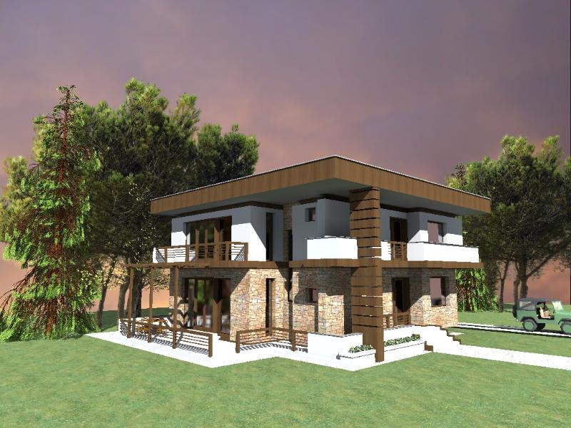 Proiecte case moderne