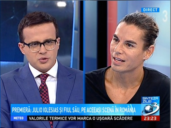 Video Mihai Gadea Julio Iglesias Jr