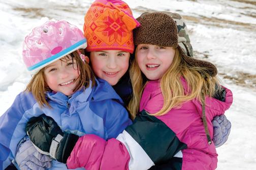 hainute iarna copii